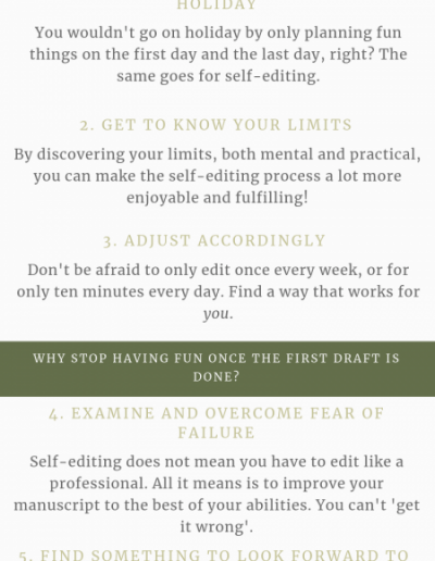 6 Ways to Have Fun While Self-Editing, from Willow Editing